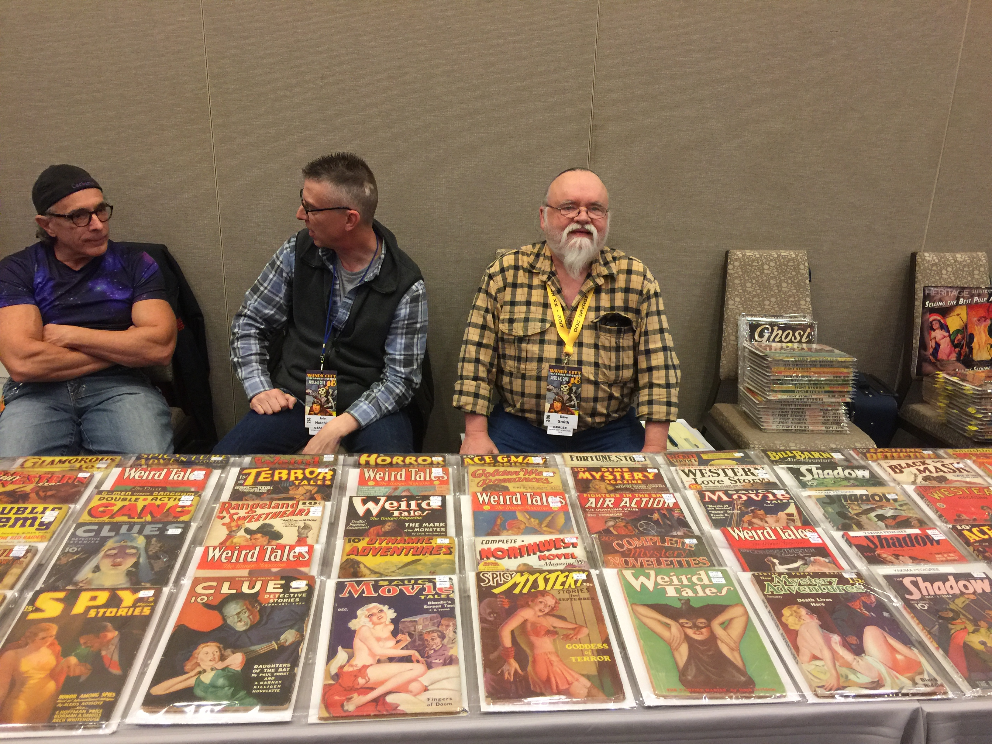 Dave Smith of Fantasy Illustrated had his usual array of rare and unique items